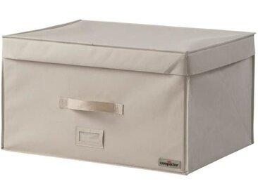 COMPACTOR Malle de rangement 2.0 150 L taille XL beige