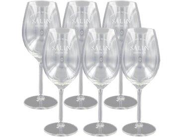 Boîte de 6 verres à vin Salin