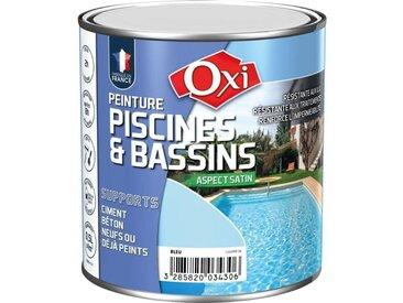 Peinture piscine bassin solvantée 0.5 L - bleu