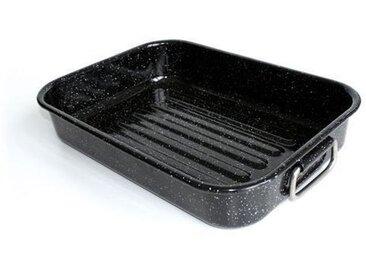 BEKA Plat à four Kitchen Roc - 40 x 29 cm - Noir