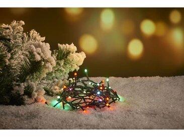 CHRISTMAS DREAM Guirlande 300 micro-LED multicolore - L 30 m - 31 V - 8 jeux de lumière - Contrôleur de mémoire