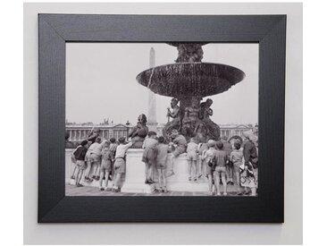 PHOTOGRAPHIE COLLECTION Image encadrée Rafraichissons nous ! 31x37 cm Gris