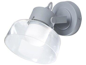 MAKO Spot salle de bain LED - L 16 x H 15 cm - Gris anhracite