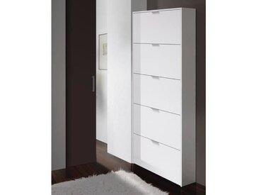 ZAPA Meuble à chaussures contemporain blanc - L 70 cm