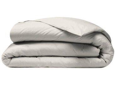 COTE DECO Housse de couette 100% percale de coton - 220x240 cm - Beige sable