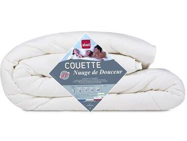 ABEIL Couette légère NUAGE de DOUCEUR 240x260 cm blanc