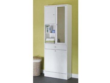 GALET Armoire de toilette L 60 cm - Blanc mat