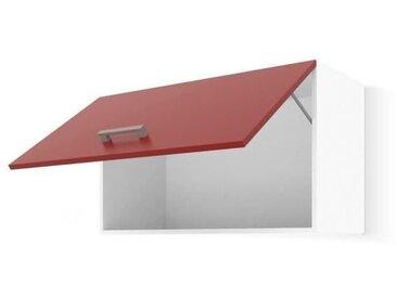 ULTRA Meuble hotte de cuisine L 60 cm - Rouge mat