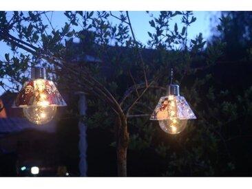 GALIX Ampoule solaire noël - Père noël