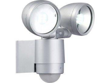 GLOBO LIGHTING Projecteur extérieur aluminium fonte gris métallisé - Verre translucide