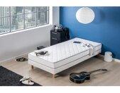 Matelas mousse 90 x 190 - DEKO DREAM Kiva - Confort ferme - Epaisseur 16 cm