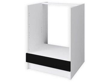 OBI Meuble bas four L 60 cm - Noir mat