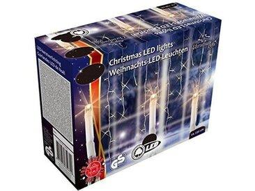 CHRISTMAS GIFT Guirlande LED Noël - 240 ampoules - Blanc chaud