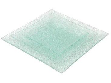 ABS - T190452-DX - Service de table - 18PCS - Verre Diamond
