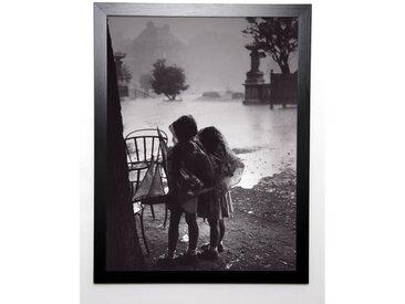 PHOTOGRAPHIE COLLECTION Image encadrée Pluie au parc 57x77 cm Gris