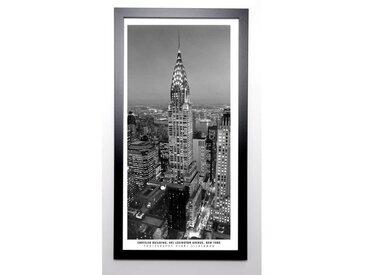 SILBERMAN Image encadrée Chrysler Building 57x107 cm Gris