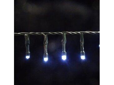 Guirlande lumineuse LED de Noël Snake light - Fonctionnant sur batterie - IP44 - 2,80m - Blanc - LUCA LIGHTING