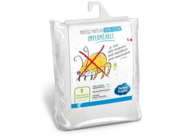 SWEETNIGHT Protège-matelas imperméable anti-acariens NŒMIE 90x190/200 cm
