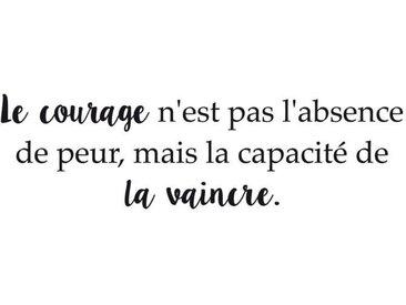 Stickers adhésif mural  Le courage - 70x20cm