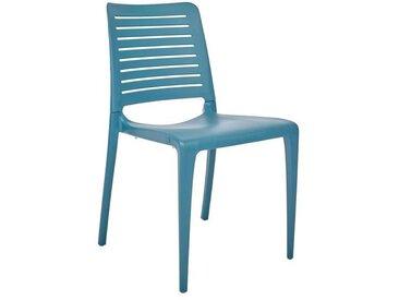 Chaise de jardin empilable PARK en polypropylène renforcé avec fibre de verre - OCEAN