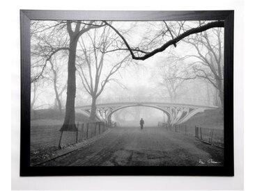 SILBERMAN Image encadrée Gothic Bridge 67x87 cm Gris