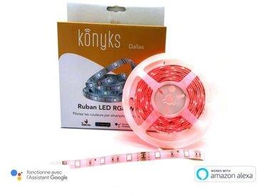 Ruban LED - Connecté WIFI RGB - 3 m extensible
