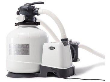 INTEX Filtre à sable - 10 m³/h - Pour Piscine jusqu'à 65 m³