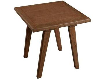 FANNY Table d'appoint carré scandinave en bois cannelle - L 45 x l 45 cm