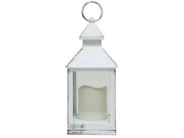 Chandelier LED hauteur 24 cm blanc