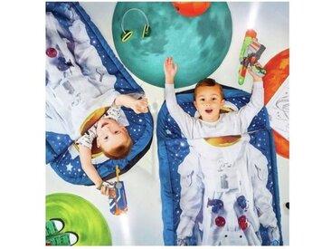"""READYBED Lit d'appoint pour enfants avec couette intégrée""""Je suis un astronaute"""""""