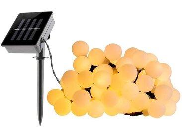 LUMI JARDIN Guirlande lumineuse à boule solaire Billy Solar - Lumière blanc - 60 boules - 700 cm