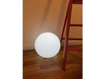 LUMISKY Sphère lumineuse E27 sur secteur 50 cm - Blanc