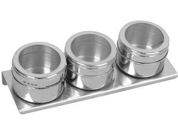 Lot 3 boîtes à épices magnétiques EQUINOX