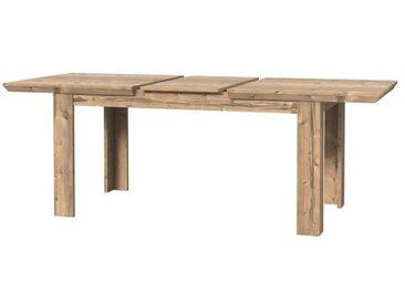 NEPAL Table à manger extensible - L 160-206 x 75 x 90 cm