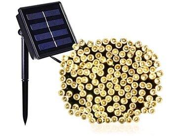 LUMI JARDIN Guirlande lumineuse solaire Yogy Solar - Lumière blanc chaud solaire - 100 LED - 900 cm