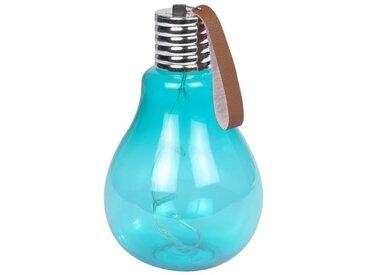 Ampoule à suspendre 11,5x11,5x20cm - Turquoise