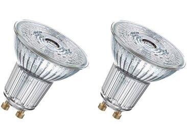 OSRAM Lot de 2 Ampoules spot LED PAR16 GU10 3,1 W équivalent à 35 W blanc chaud dimmable