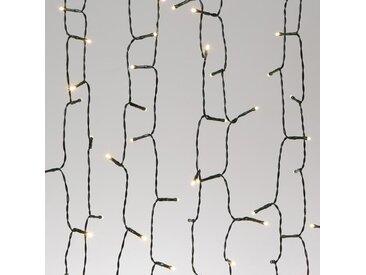 CODICO Guirlande solaire lumineuse - 50 LED - 5 m - Blanc chaud