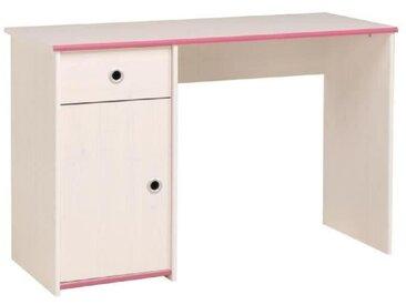 SWITCH Bureau enfant Décor pin memphis et rose ou bleu - L 121 cm
