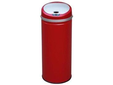 KITCHEN MOVE Poubelle de cuisine automatique 42 L rouge