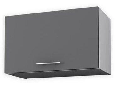 OBI Meuble hotte L 60 cm - Gris mat