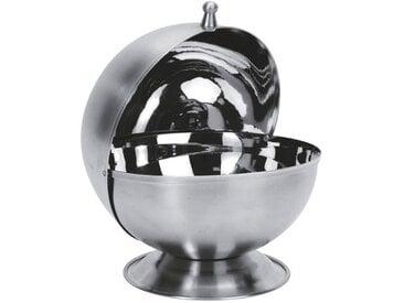 EQUINOX Sucrier de forme boule 13,5 cm gris