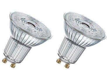 OSRAM Lot de 2 Ampoules spot LED PAR16 GU10 6,9 W équivalent à 80 W blanc froid