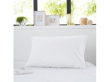 SWEETNIGHT Protège-oreiller bouclette SIMON 50x70 cm - Blanc