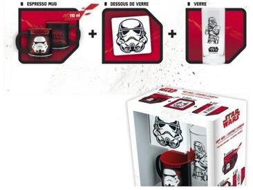 Pack Verre + Sous-Verre + Mini Mug Star Wars - Trooper - ABYstyle