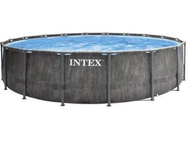 Intex kit piscine tubulaire baltik (ø)5,49 x (h)1,22m