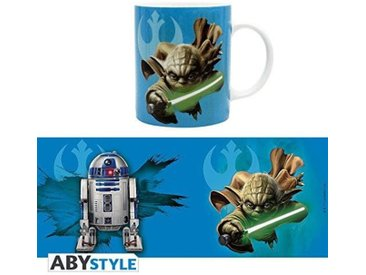 Mug Star Wars - 320 ml - Yoda & R2D2 - avec boîte - ABYstyle