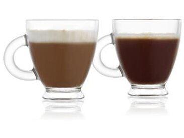 REEPTION Lot de 6 tasses à café en verre Roma - 15,5 cl