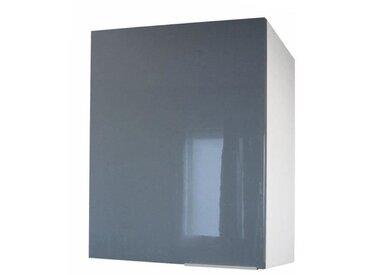 POP Meuble haut de cuisine L 60 cm - Gris haute brillance