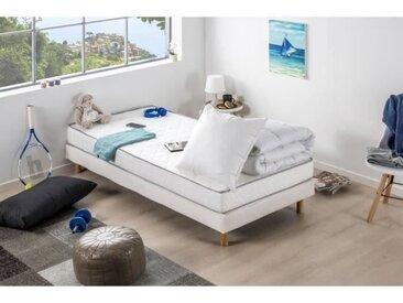 DEKO DREAM Pack Douceur Matelas 90x190 + Couette 140x200 + Oreiller 60x60 - 14 cm